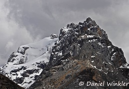 Glaciated peak S of Ganzi along Payul Rd DW Ms