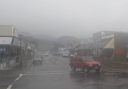 Cordova in rain and fog Cr S