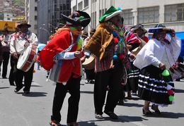 Carneval natives La Paz Bolivia S
